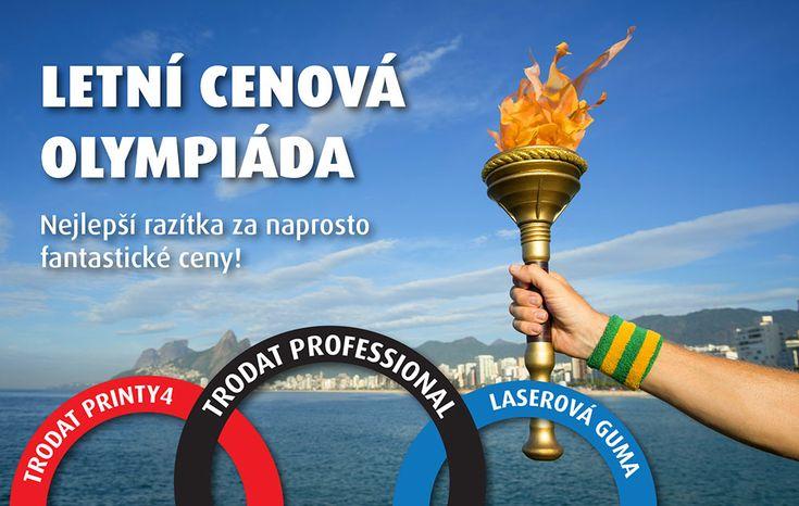 Akce: Letní cenová olympiáda - http://www.mega-blog.cz/razitka/akce-letni-cenova-olympiada/ V těchto dnech vám ve schránce přistál tištěný Megazín, takže již možná víte, že celý srpen můžete nakupovat nejlepší razítka na trhu za naprosto fantastické ceny! Staňte se olympijskými šampiony s TRODATEM. Využijte této šance a vyhrajte nad konkurencí. Olympijské letní ceny jsou až neuvěřitelné...