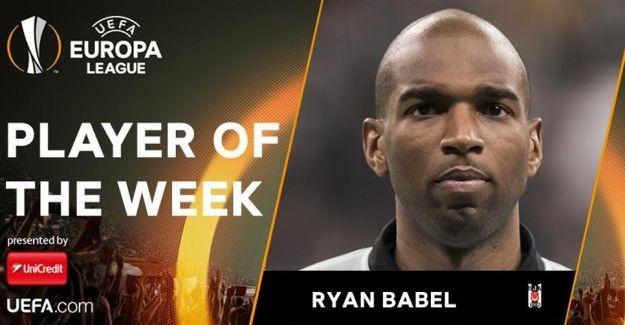 Ryan Babel, haftanın futbolcusu seçildi