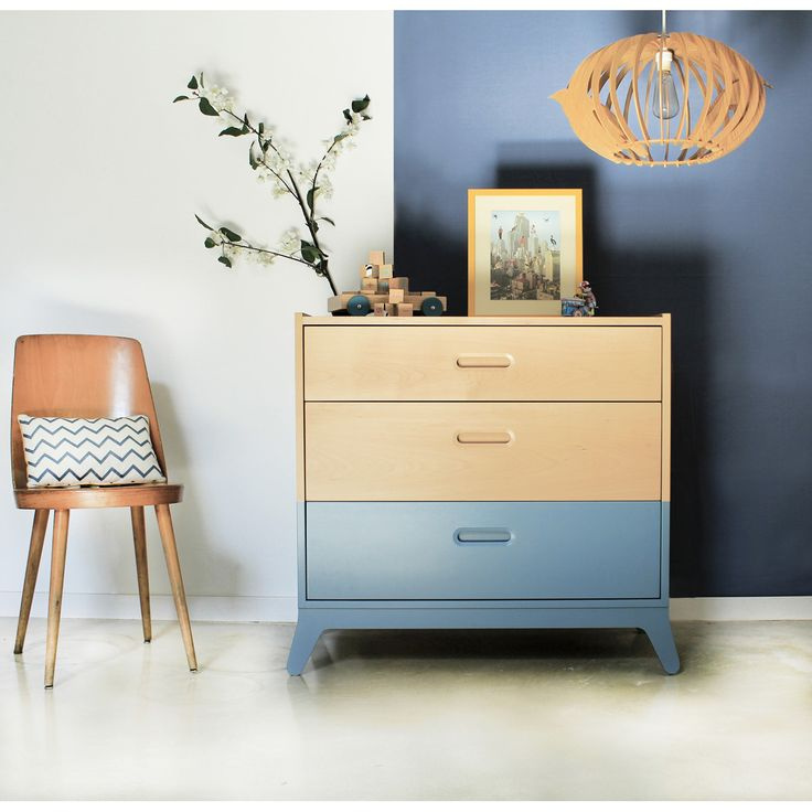 Commode design, original et écologique. Nobodinoz conçoit du mobilier enfant moderne et durable.