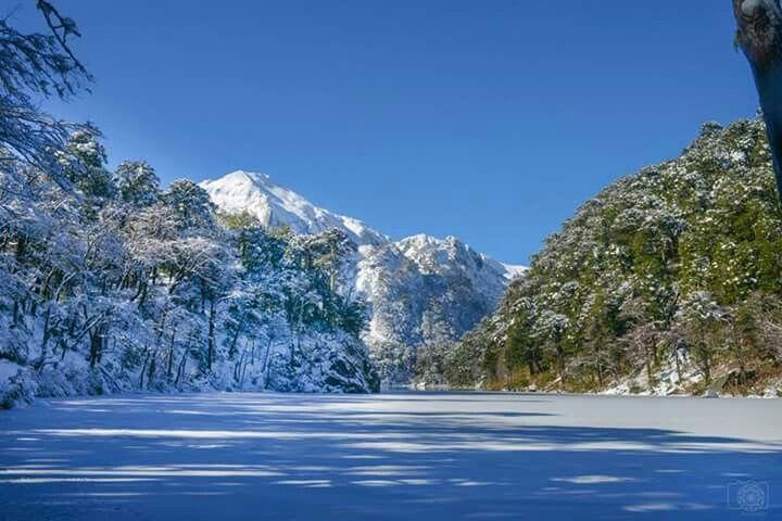 Invierno en Parque Nacional Huerquehue, Chile