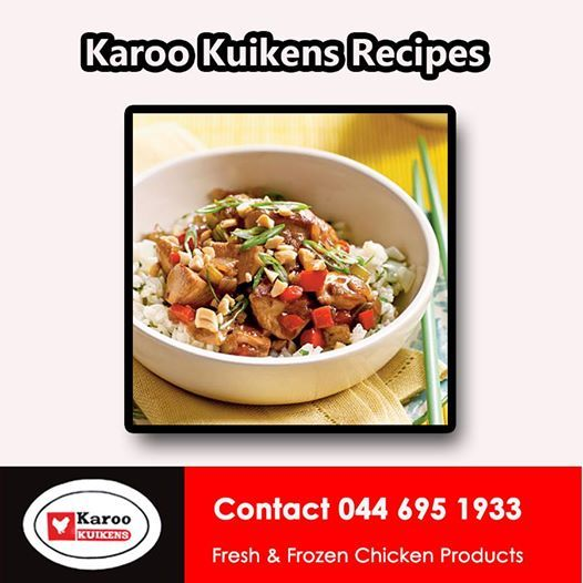How about trying this recipe for Chicken and Cashew nuts from Karoo Kuikens. Simply click http://on.fb.me/1jzlyN3 to get the full details. #chickenrecipe #cuisine #cookingchicken