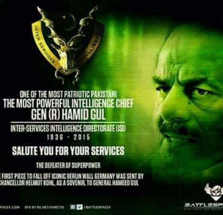 #Victor of #Afghan #War : #Warrior , #Hero , #Legend , #Lion . Lt. Gen. #HamidGul , Former DG , ISI , Pakistan Army ( #PakArmy ) .