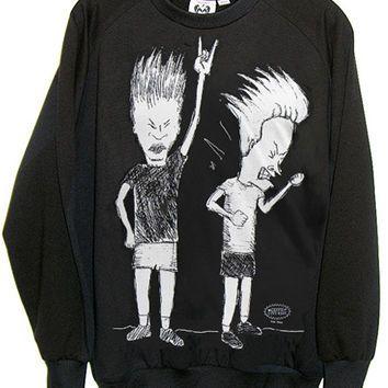 Beavis And Butthead Organic French Terry Sweatshirt