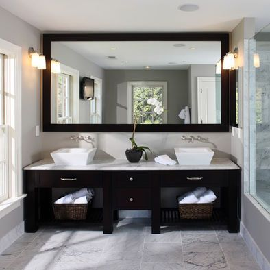 Vanity Inspiration, Except project will be with Full Cabinets though and Above Light Sconces, undermount sinks, Home Design, Pictures, Remodel, Decor and Ideas - page 8