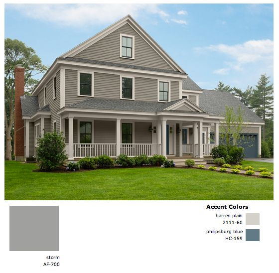 31 best house exterior colors images on pinterest - Benjamin moore exterior paint finishes ...