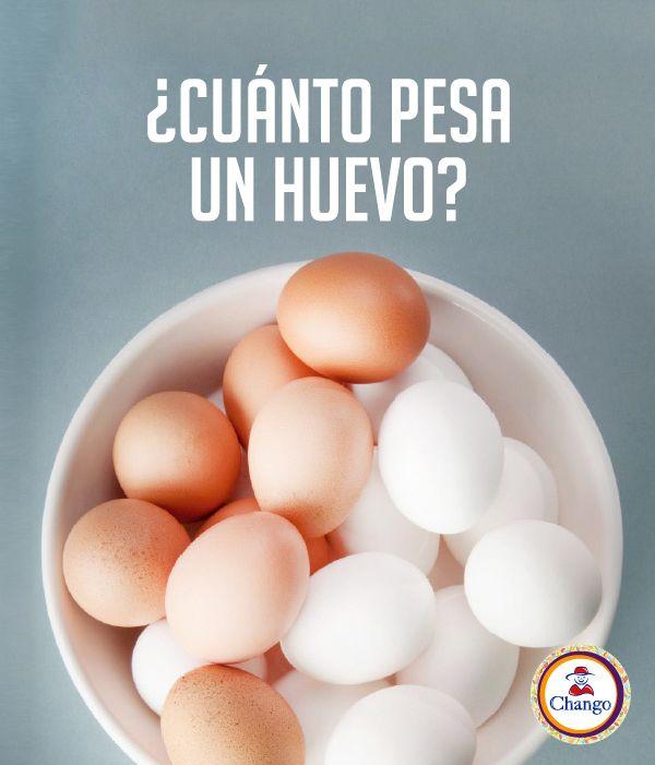 #TipChango Un huevo mediano pesa entre 55 y 60 grs, de los cuales 20 grs corresponden a la yema y 35 a 40 grs a la clara.  #eggs #dessert #cook #bakery