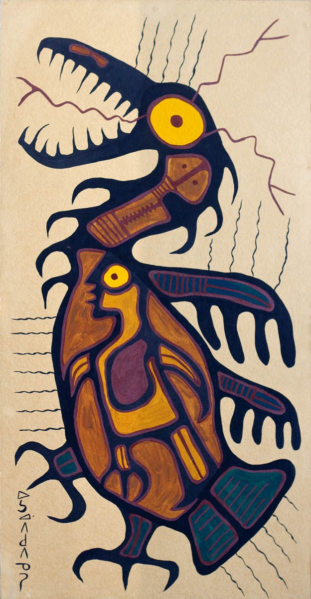 'Untitled' by Norval Morrisseau