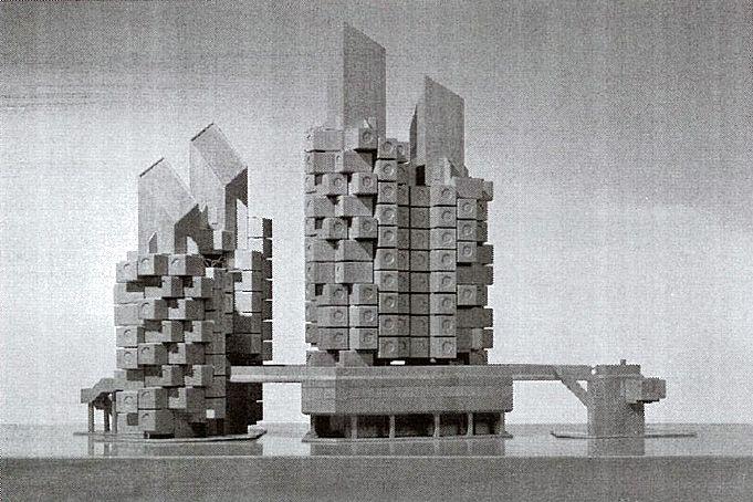 Clássicos da Arquitetura: Nakagin Capsule Tower,Maquete