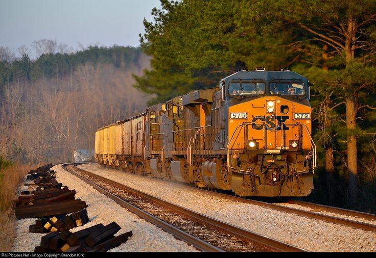 RailPictures.Net Photo: CSXT 579 CSX Transportation (CSXT) GE AC44AH at Broughton, Alabama by Brandon Kirk