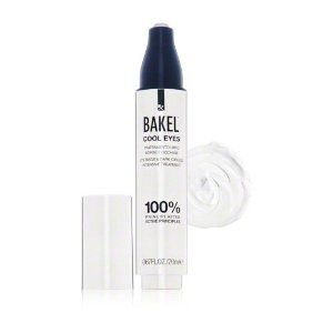 Bakel Cool Eyes-0.7 oz. by Bakel. $119.00. Eye, Eye, CaptainBakel Cool Eyes offers a cooling, comfortable and intensive treatment to fight bags and dark circles below the eyes. This innovative cream stimulates drainage of excess liquids and boosts firmness and elasticity. Eyes take on a smoother, more toned appearance, with a notable decrease of puffiness and dark circles. Cooling and comfortableRelieves and improves appearances of bags and dark circlesStimulat...