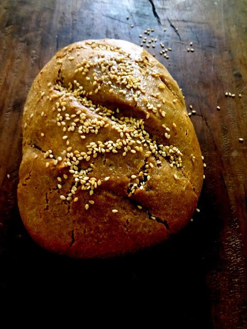 RUSTIC BREAD ( PRESSURE COOKER METHOD )