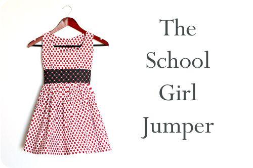 school girl jumper