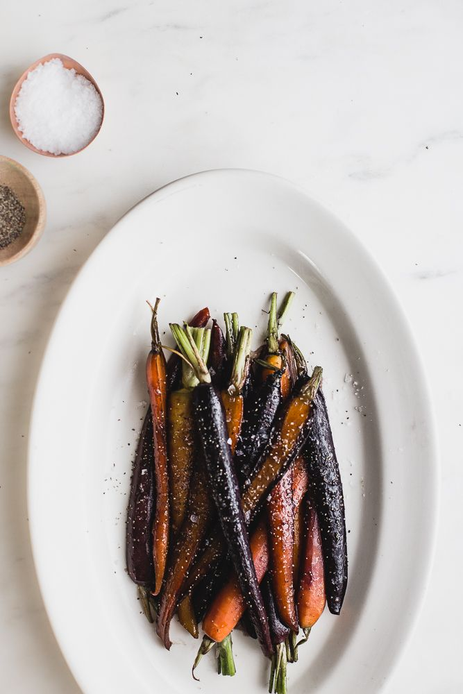 Brown Buttered Glazed Carrots | The Modern Proper Food photography, food styling