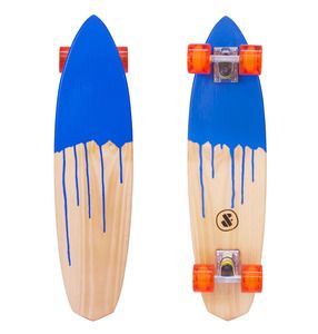 This surfboard inspired deck is shaped from a piece of select grade Hoop Pine and then dipped into paint. www.dandfboards.com.au