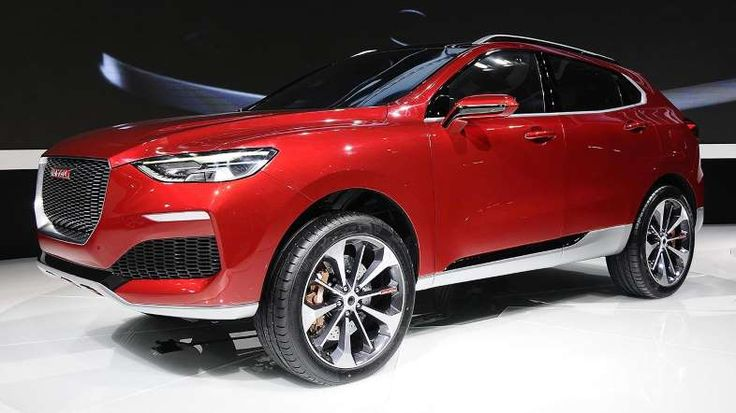 Provided by Motoring Research 2016 Haval Concept R from China