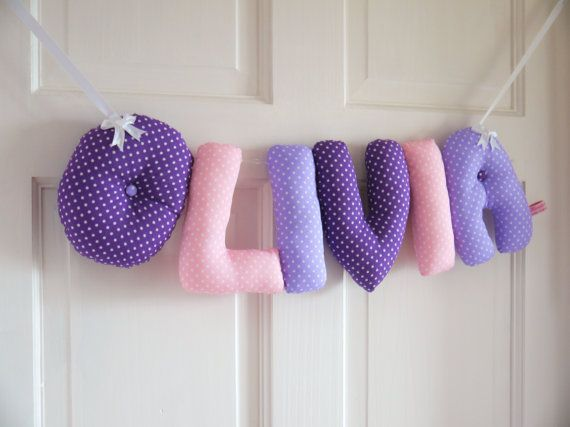 OLIVIA  Personalized Baby name wall hanging kids by kinderkraft, £18.00 etsy.com