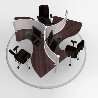 Modular Office Furniture   Modern Workstations, Cool Cubicles, Sit Stand  Benching Systems