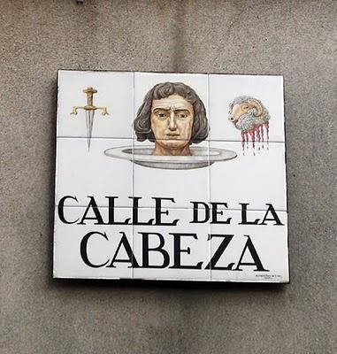 @Mady Salyer Calle de la cabeza, Madrid