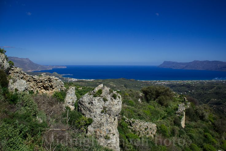 """By far, without a doubt, Polyrrinia is one of my favorite places to visit on Crete.."""
