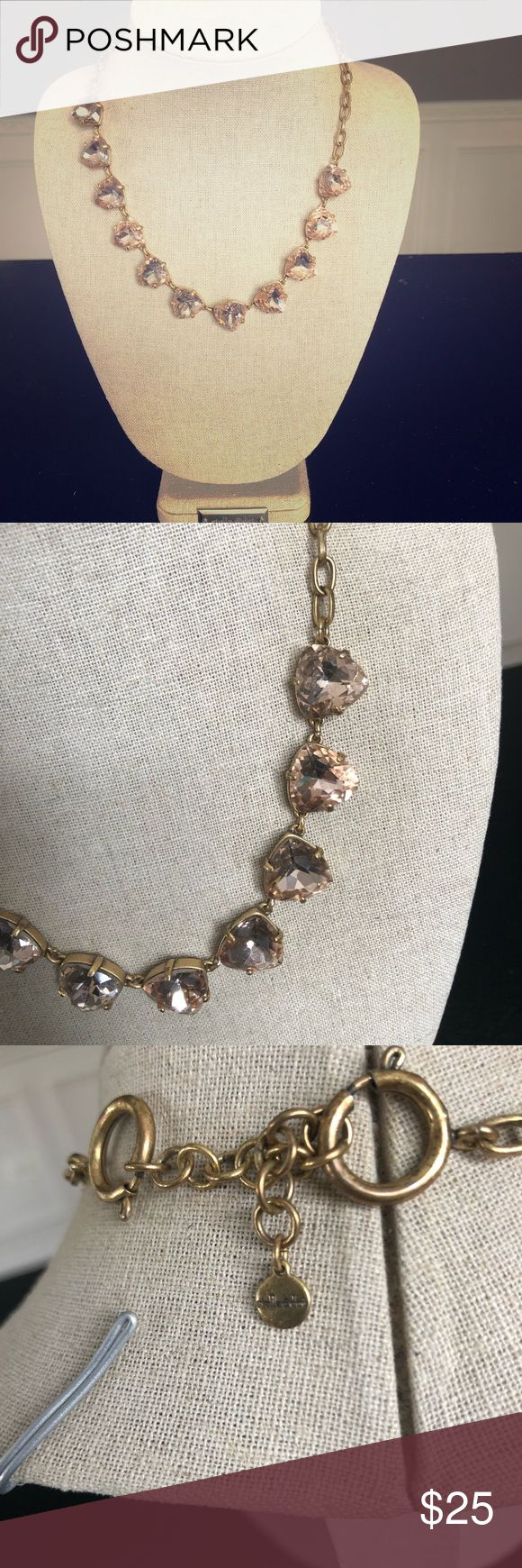 Stella & Dot Somervell peach necklace Peach stones & a gold necklace. Great to layer with delicate chains or wear on its own Stella & Dot Jewelry Necklaces