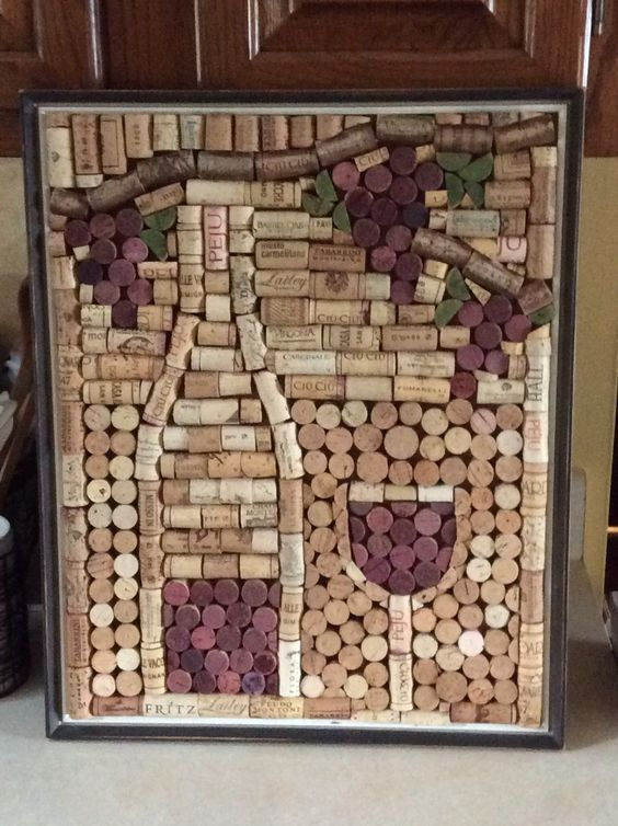 THESE DIY DECORATION IDEAS USING WINE CORK ARE ENOUGH TO LEAVE YOU JAW DROPPED