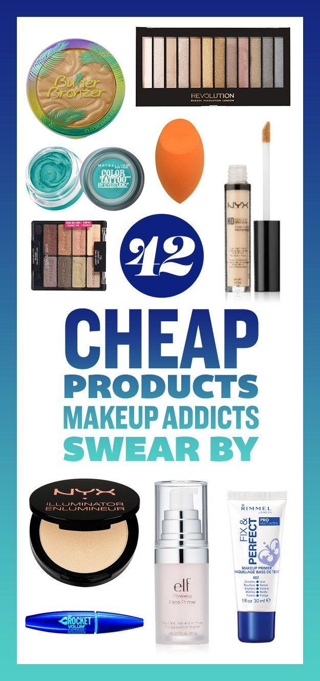 42 Cheap Products Makeup Addicts Swear By  - YAAAAAAASSSSSS