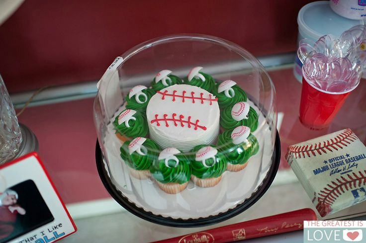 Baseball Smash Cake And Cupcakes Sam S Club Aiden S