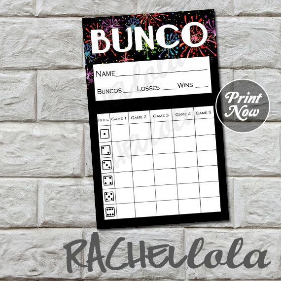 36 best Bunco!!! images on Pinterest Bunco ideas, Bunco party - bunco score sheets template