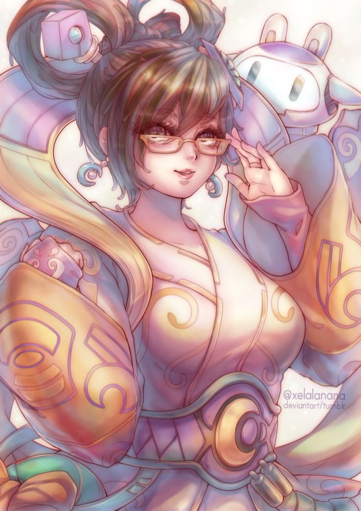 Chang'e Mei by xelalanana.deviantart.com on @DeviantArt - More at https://pinterest.com/supergirlsart/ #overwatch #fanart