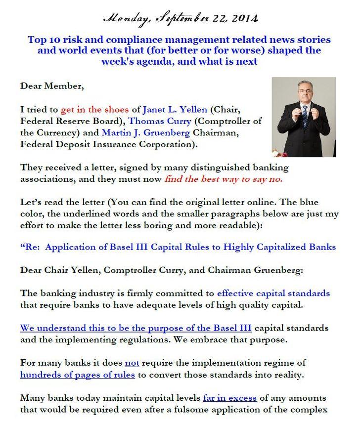 Newsletter, September 22, 2014