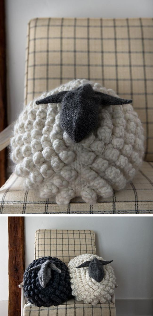 You guys, I find myself daydreaming about a stuffed animal, and it's all Purl Soho's fault. I thought the Bobble Sheep Pillow was super cute and well done when they first published the …