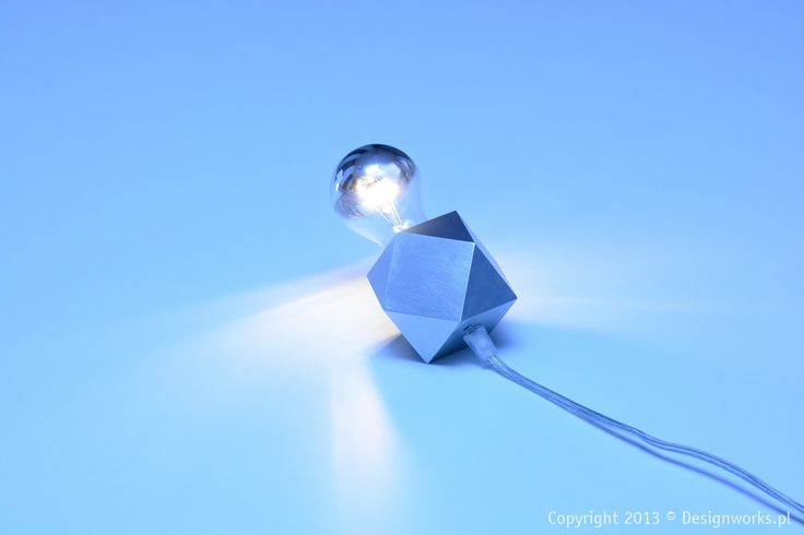 N-GON lighting concept is based on simple Cuboctahedron geometry. Classic lighting sources are also available.
