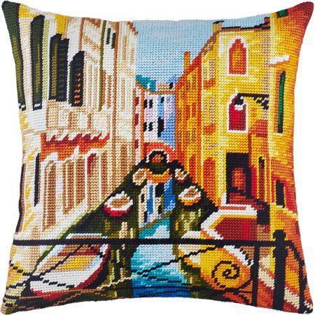 """Купить """"Венеция V-135"""". Производитель: Чарівниця. Раздел: Наборы для вышивки подушек полукрестом/Вышивание"""