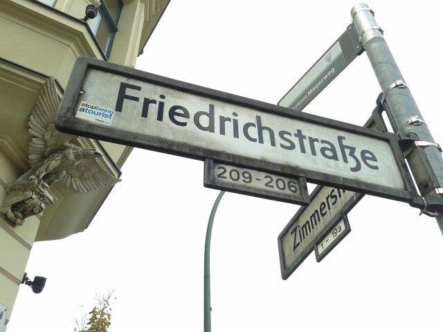 Friedrichstrasse @ Berlin
