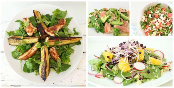 De 10 lekkerste en gezondste salades van I Love Health, tot dusver. Uiteraard zullen er nog vele volgen. Altijd handig, een top 10 lijstje!
