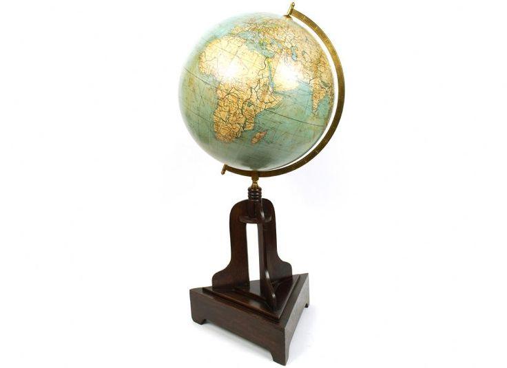 Globo antico Columbus / Antique globe Columbus