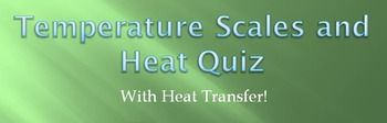 Converting Temperature Scales, Solving Heat Equation, and Heat concept fill-in the blank