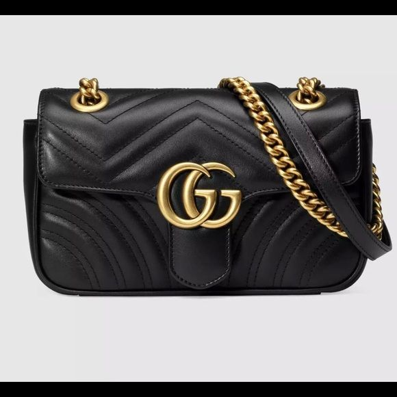 d2063c4cbdc7 NWT Gucci GG Marmont Matelasse Mini Bag Brand new with tags and dust bag,  guarantee authentic Gucci Bags Crossbody Bags