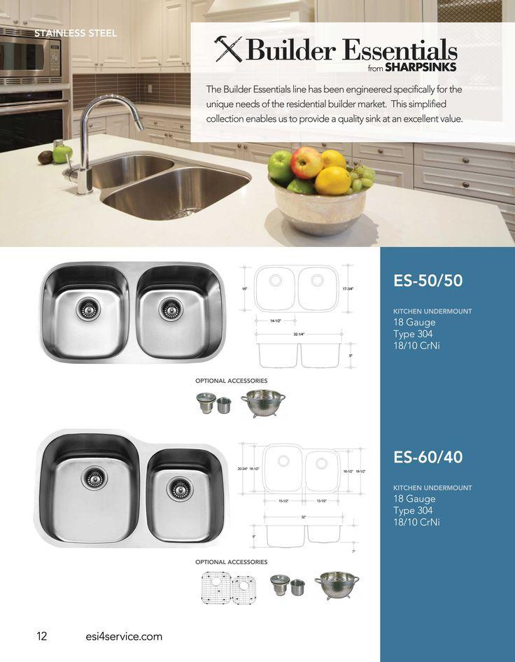 Charming ESI SharpSinks Catalog Pg 12 Stainless Steel Sinks