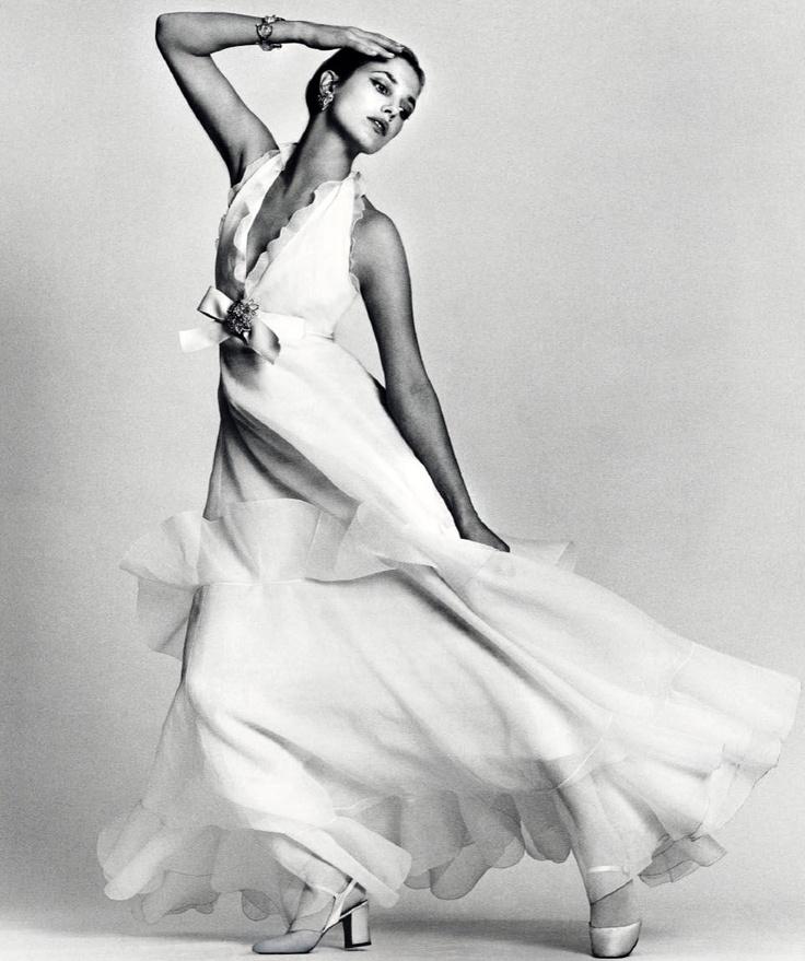 Dior in Vogue: Jean Shrimpton by David Bailey