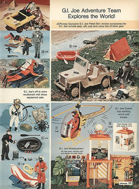 GI Joe from the 1974 JC Penney's Christmas catalog