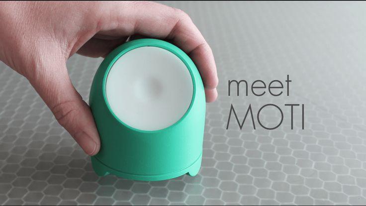 MOTI – Un petit objet connecté pour changer vos habitudes