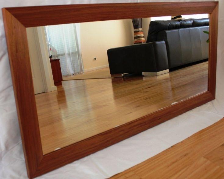 Tasmanian blackwood mirror