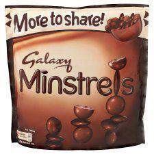 Galaxy Minstrels Bag 290G - http://bestchocolateshop.com/galaxy-minstrels-bag-290g/
