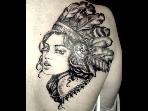Native American Tattoos for Women | INKA TATTOOS STUDIO | 80c ST JAMES STREET BRIGHTON | 01273 708844