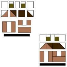 Resultado de imagem para patchwork house patterns