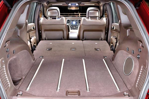 New Jeep Cherokee 2014 Evolved SUV For Less Than $23000 (Photo: Cargo Area)