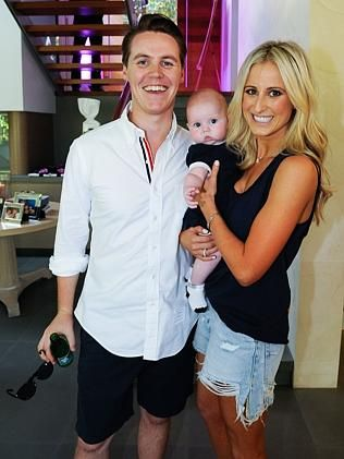 Oliver Curtis, Pixie-Rose Curtis and Roxy Jacenko.