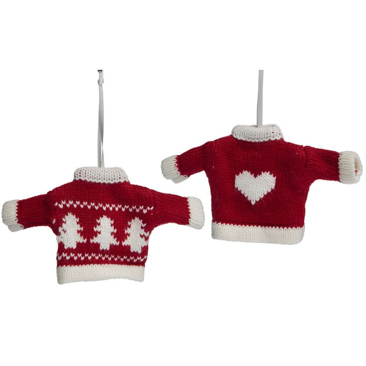 Wilko Merry & Bright Knitted Jumper Decoration    Assorted