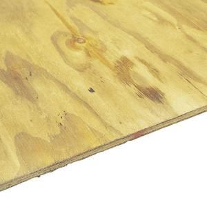 Pressure-Treated Plywood Rated Sheathing (Common: 23/32 in. x 4 ft. x 8 ft.; Actual: .703 in. x 48 in. x 96 in.), 261688 at The Home Depot - Mobile $36.57